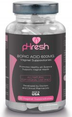 PHRESH - BORIC ACID VAGINAL SUPPOSITORIES