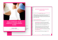 Bulletproof Your Fertility Supplement Guide