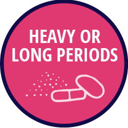 Heavy or Long Periods